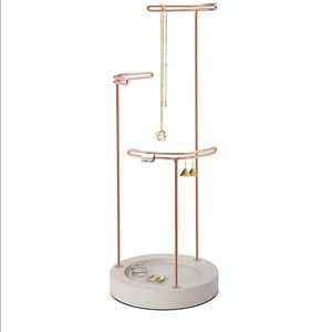 Umbra Tesora Earring and Necklace Stand